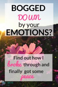 Feeling overwhelmed? Anxious? Irritable? By using 3 of my favourite tools, say good-bye to tough emotions and finally find some peace!