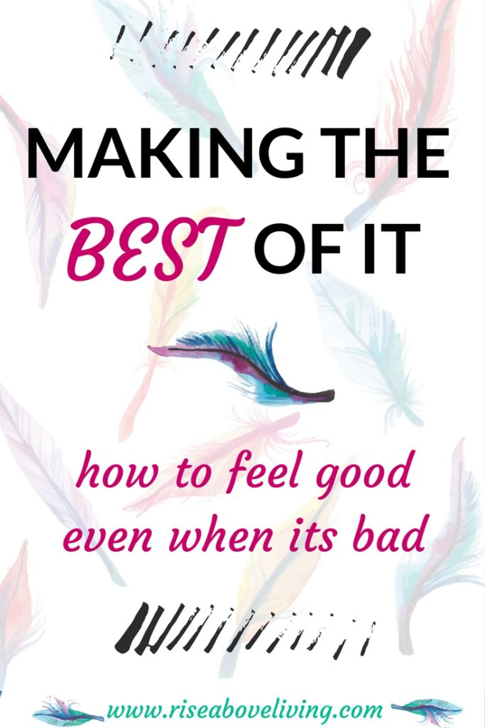 Learn easy and effective feel-good techniques even in a bad or negative situation. Stay positive and transform your life. Free healing guides available.
